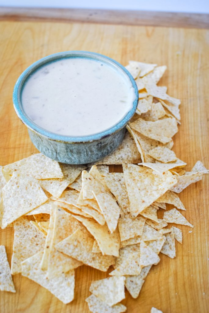 Quick and Easy Queso Blanco Dip