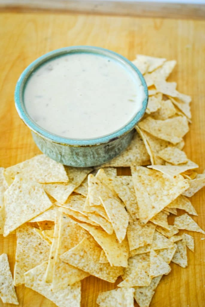 Quick and Easy White Queso