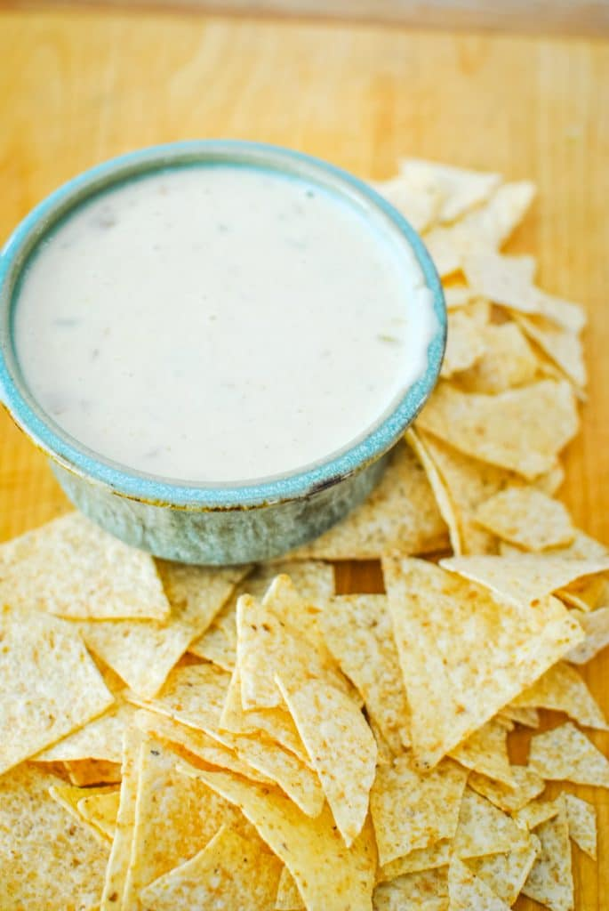 Quick and Easy White Queso Dip