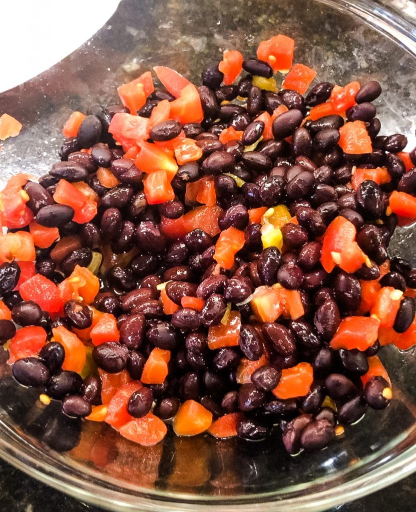 rotel tomatoes with black beans