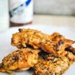 Buffalo Ranch Chicken Thighs with Cristal Hot Sauce