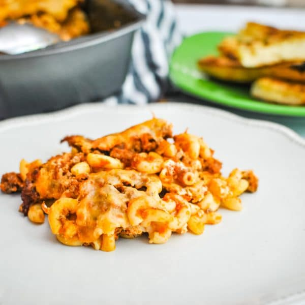 Cheese and Pasta in a Pot Meal Idea