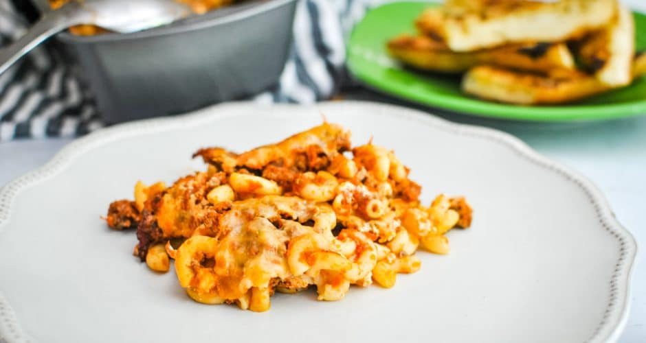 Cheese and Pasta in a Pot
