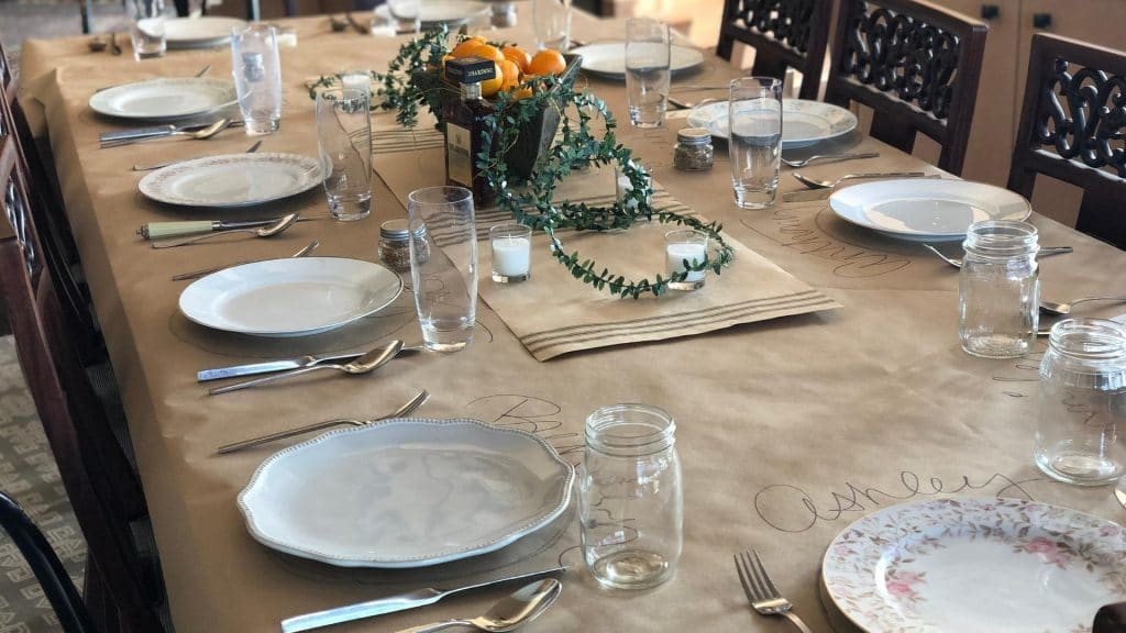 Budget Friendly Tablescape