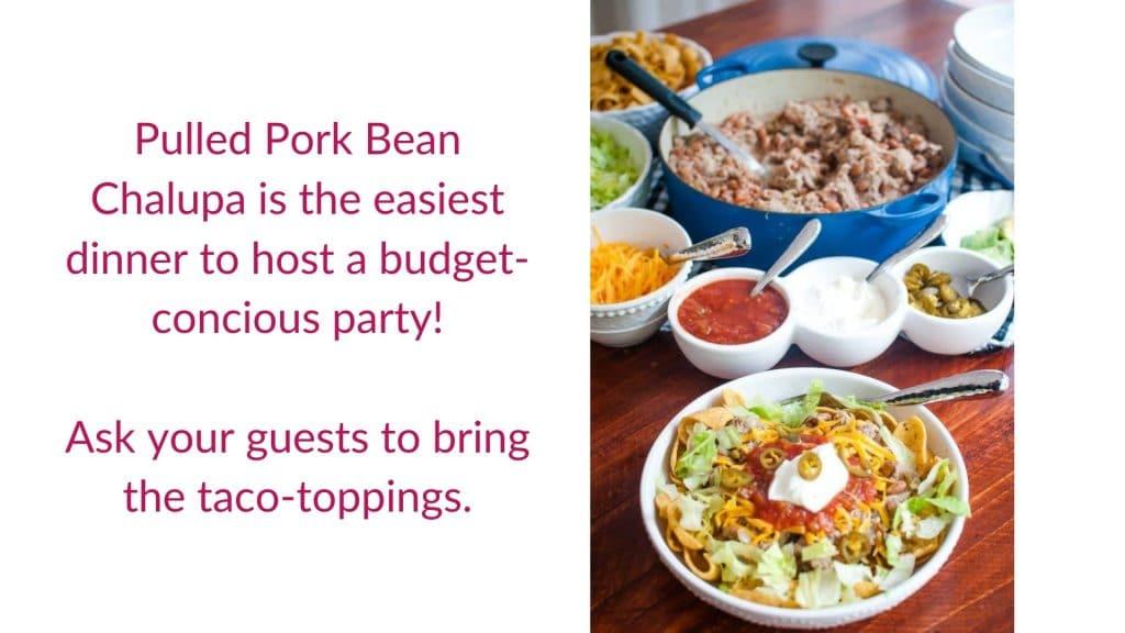 Pulled Pork Bean Chalupa Recipe