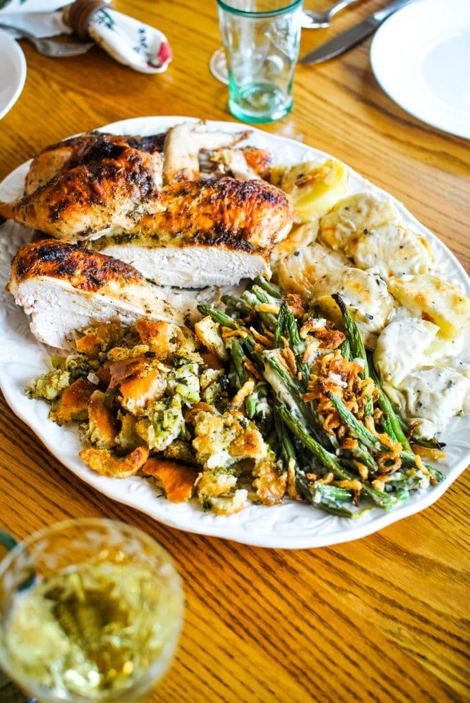 Easy Thanksgiving Dinner on a Sheet Pan