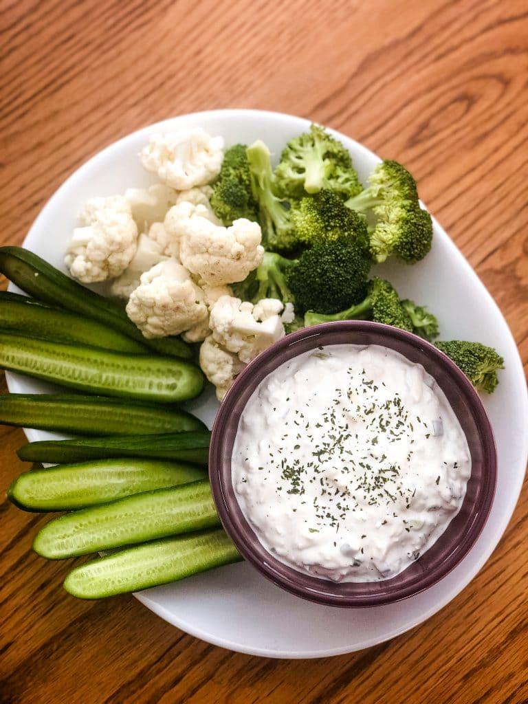 Keto Veggie Platter