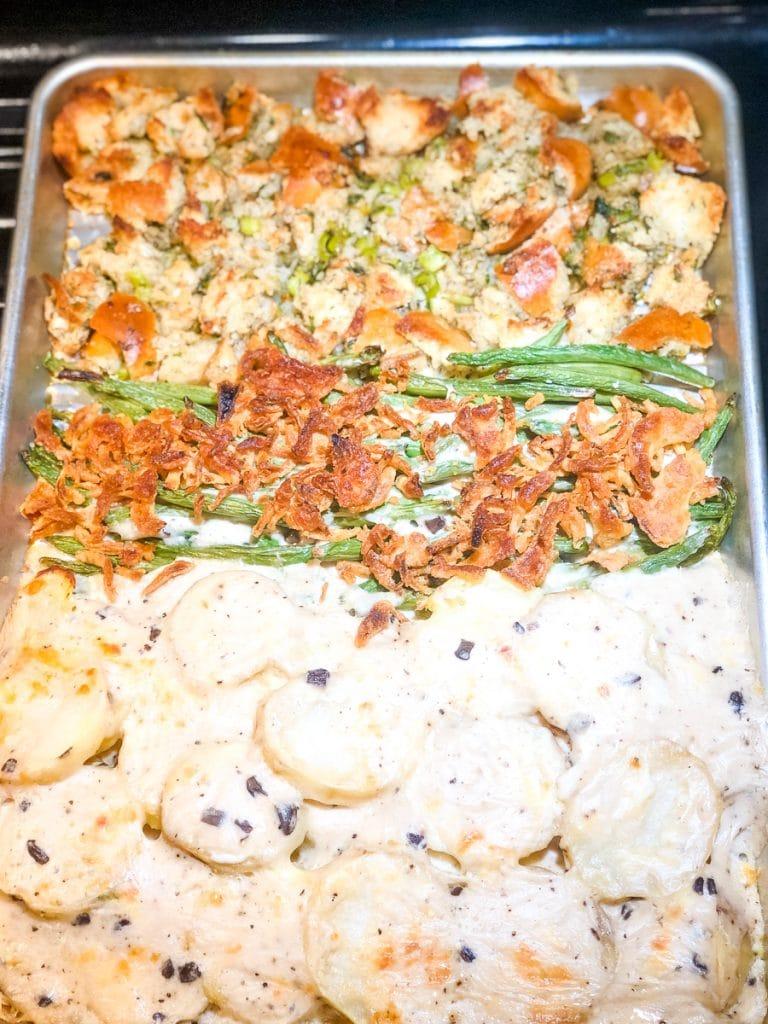 Sheet Pan Thanksgiving Side Dish