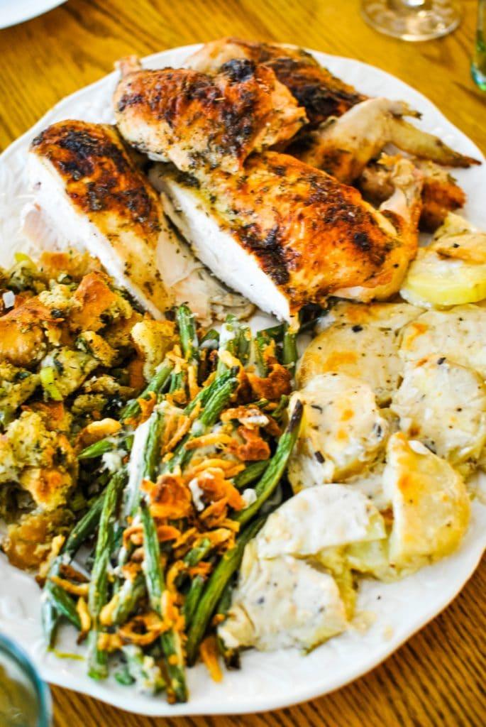Thanksgiving Dinner on a Sheet Pan