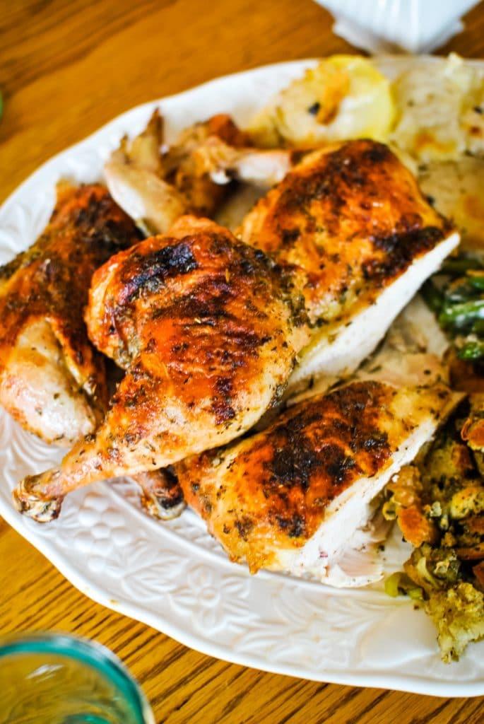 Thanksgiving Roasted Chicken