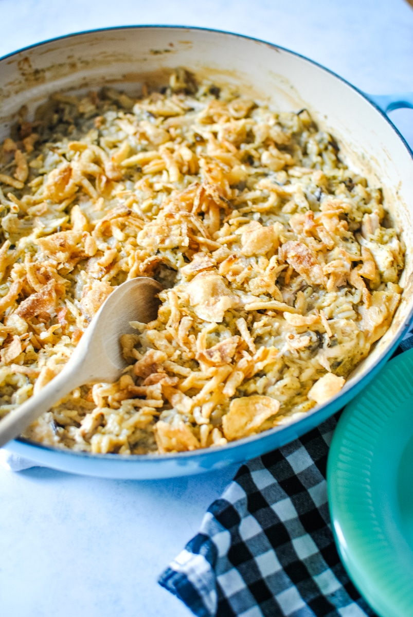 Chicken and Rice Casserole with Sour Cream