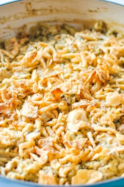 French Onion Chicken and Rice Casserole