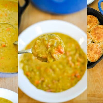 Split Pea Soup with Leftover Ham