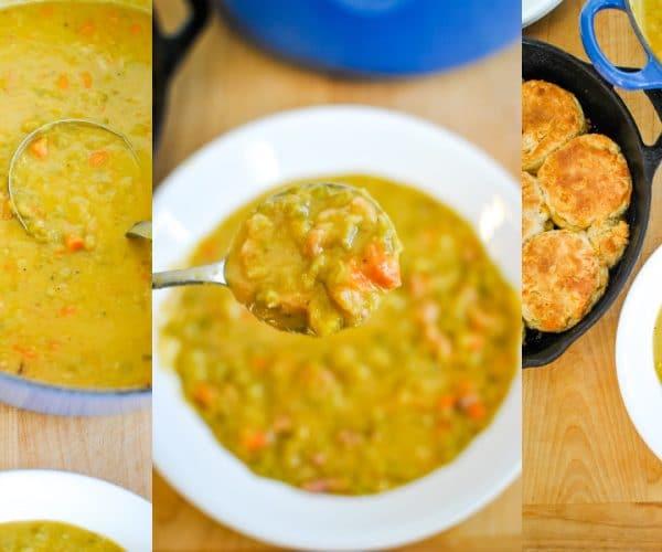 Split Pea Soup Recipe with Leftover Ham Cover Photo