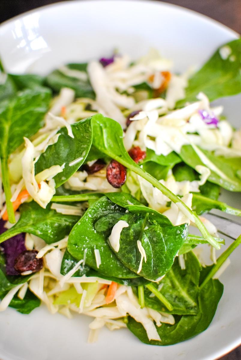 30 second salad idea