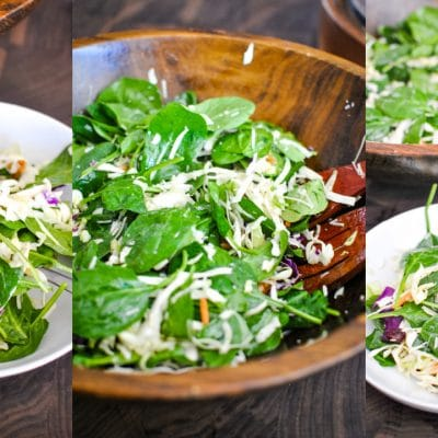 30 Second Salad Recipe